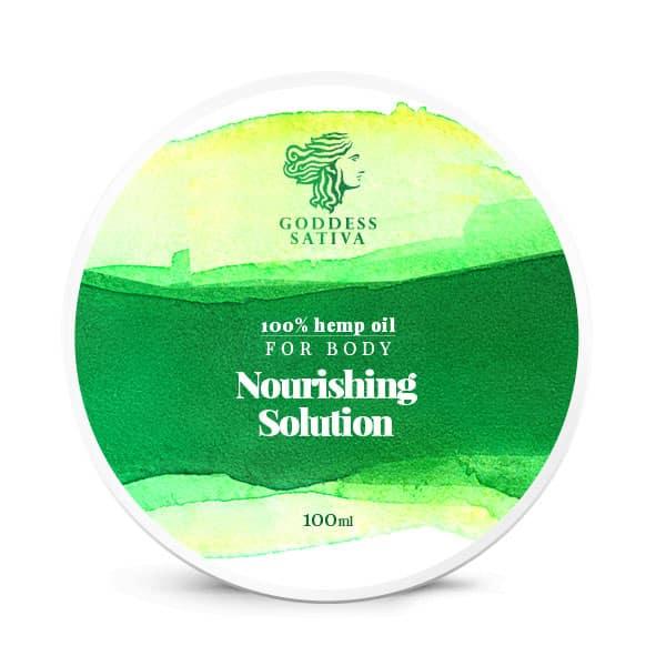 Goddess Sativa CBD Nourishing Solution