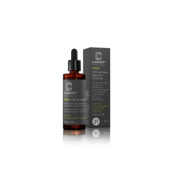 CANNEFF CBD Face Oil serum