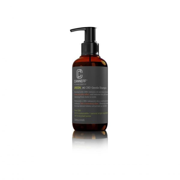 CANNEFF GREEN CBD Gentle Shampoo