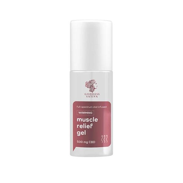 Goddess Sativa CBD Muscle Relief Gel