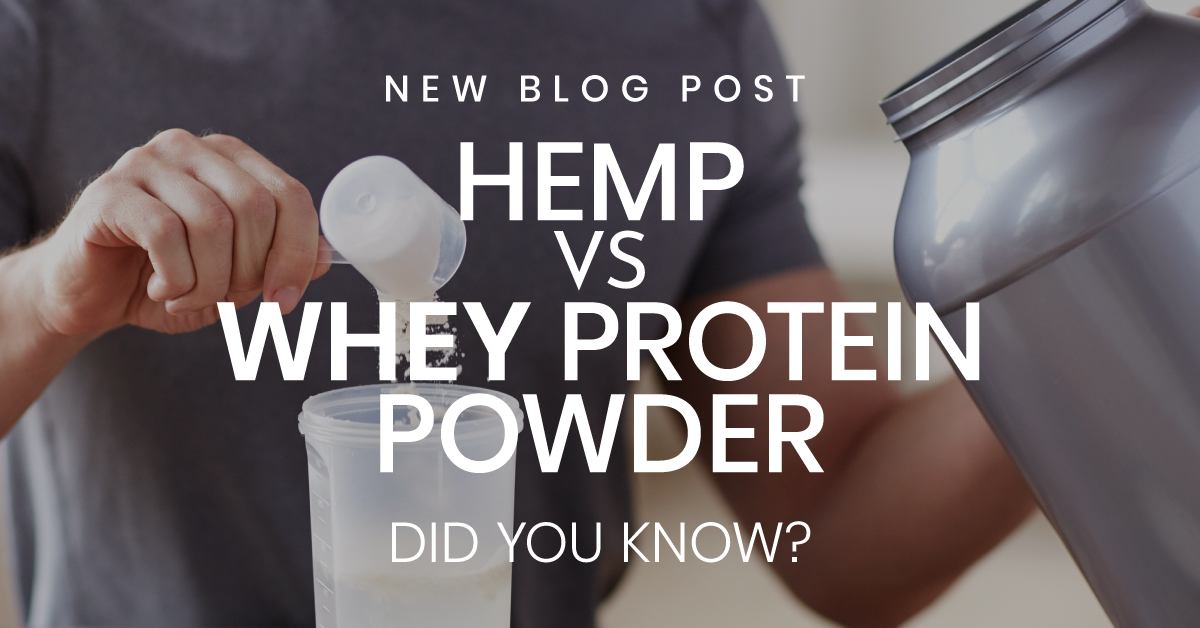 Hemp vs Whey Protein